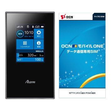 (タイムセール)NEC Aterm MR04LNが14,200円で販売中