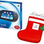 Amazonで『PS Vita 3G/Wi-Fiモデル限定版+デカくつした』が4,110円引きで販売中