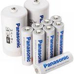 Amazonで「eneloop 単3形充電池 8本パック 変換スペーサー2本付」が1,680円で販売中