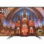 シャープ 40V型 AQUOS 4K 液晶テレビが64,800円 Amazon特選タイムセール