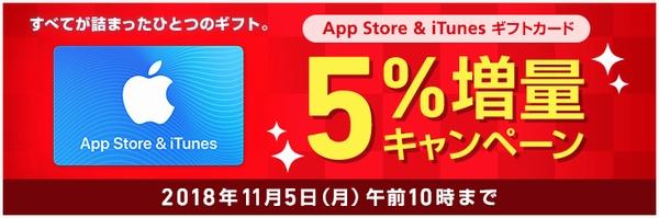 ソフトバンクApp Store & iTunes ギフトカードセール