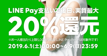 20%還元 Payトク