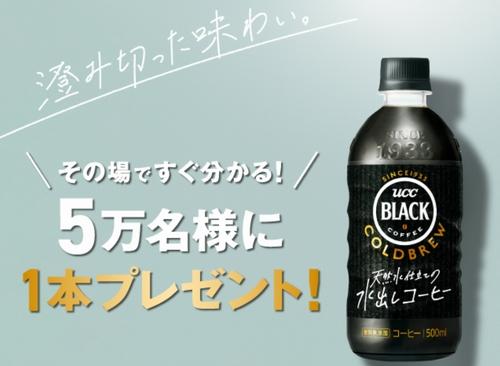 UCC BLACKプレゼントCP