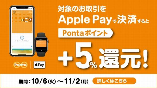 Apple Pay 還元CP